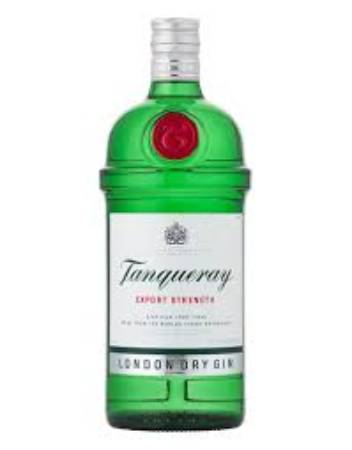 TANQUERAY DRY GIN 12X750