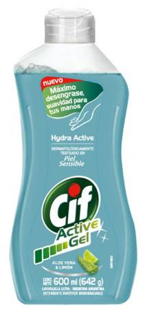 CIF ACT GEL ALOE/LIMON 12X600M