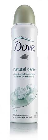 DOVE DEO AER AP NAT CARE 12X10